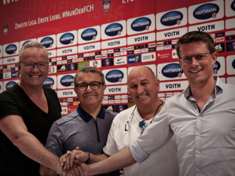 Vereinskooperation mit dem FC Heidenheim